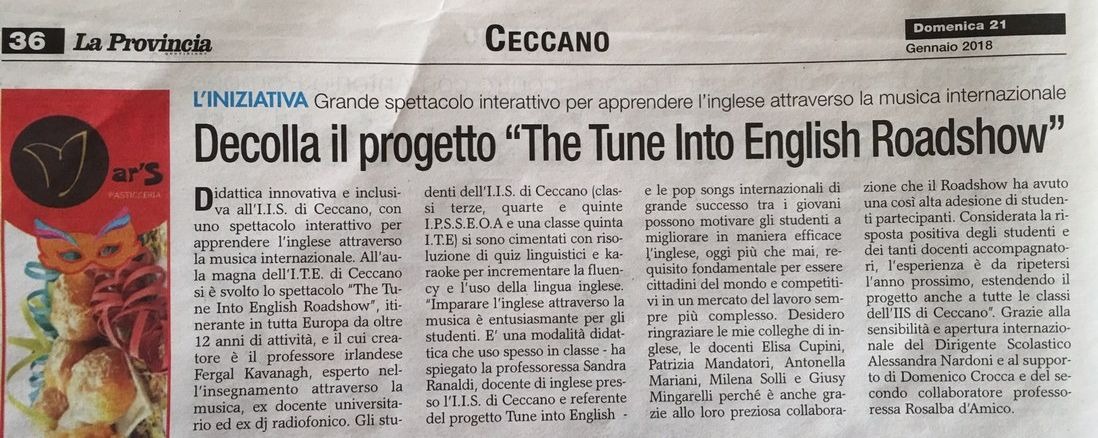 articolo-provincia-tune-into-english-project